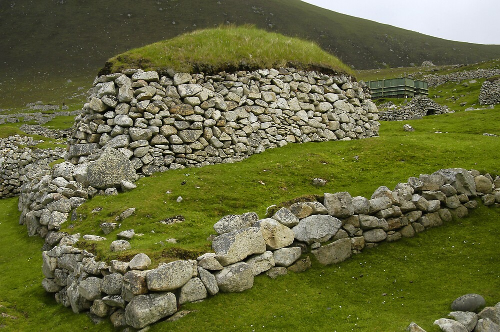 St Kilda, Black House by JimWhitham