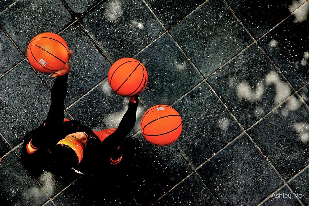 Basketball Man by Ashley Ng