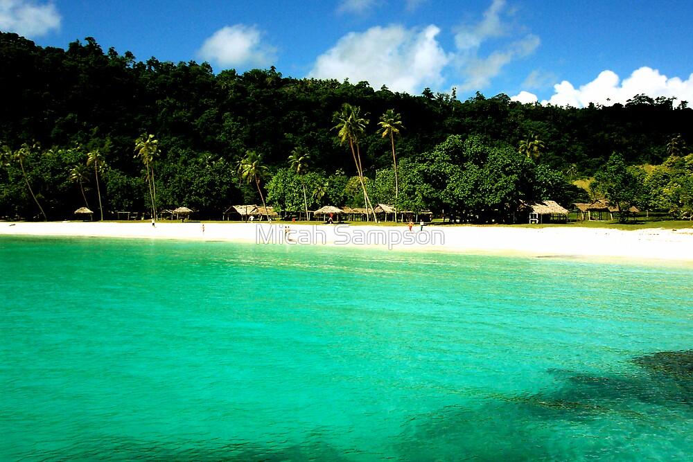 Champagne Beach, Vanuatu by Micah Sampson