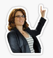 Liz Lemon - 30 Rock Sticker