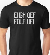 Fuck off hidden message Unisex T-Shirt