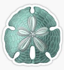 Antique Sea Sand Dollar Illustration Sticker