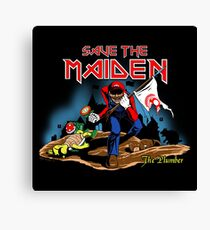 Save the Maiden Canvas Print