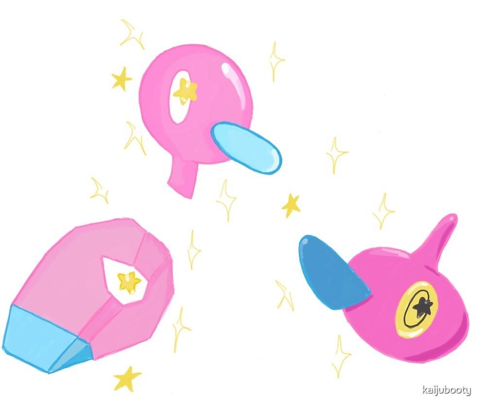 Virtual Pokemon by kaijubooty