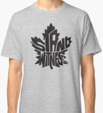 Toronto Maple Leafs Stand Witness Black Classic T-Shirt