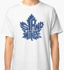 Toronto Maple Leafs Stand Witness Blue Classic T-Shirt
