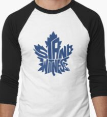 Toronto Maple Leafs Stand Witness Blue Men's Baseball ¾ T-Shirt