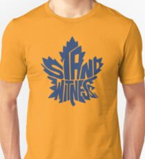 Toronto Maple Leafs Stand Witness Blue T-Shirt