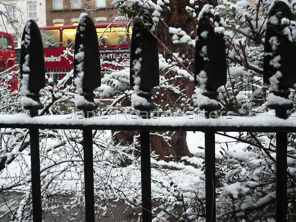 snow in london by Janis Read-Walters