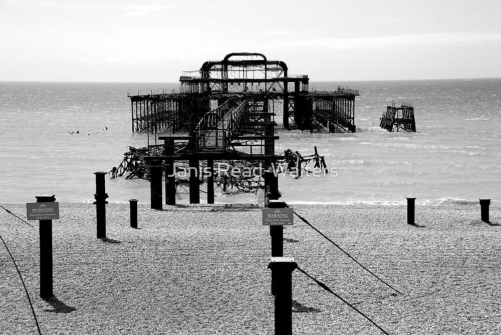 brighton west pier by Janis Read-Walters