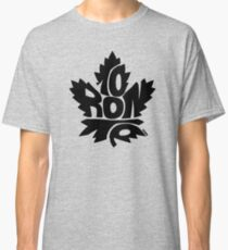 Toronto Maple Leafs black Classic T-Shirt