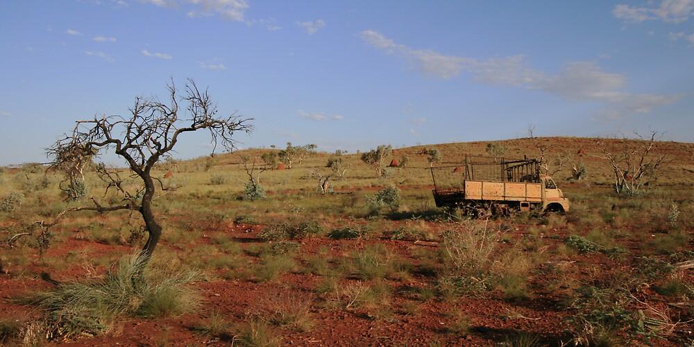Rusty Truck, Pilbara by Leigh Penfold