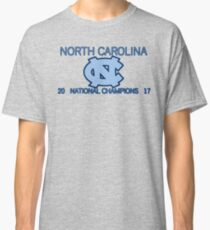 North Carolina National Champions 2017 Classic T-Shirt