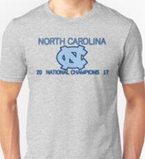 North Carolina National Champions 2017 Unisex T-Shirt