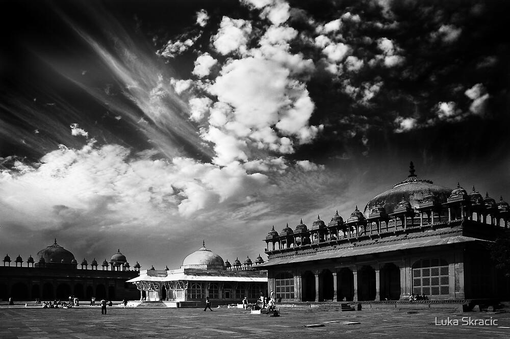Fatehpur Sikri, India. by Luka Skracic