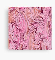 Marble texture. Ebru suminagashi technique. Canvas Print