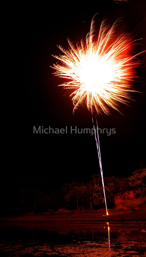 Carol's Fireworks @ Mount Barker 2 by Michael Humphrys