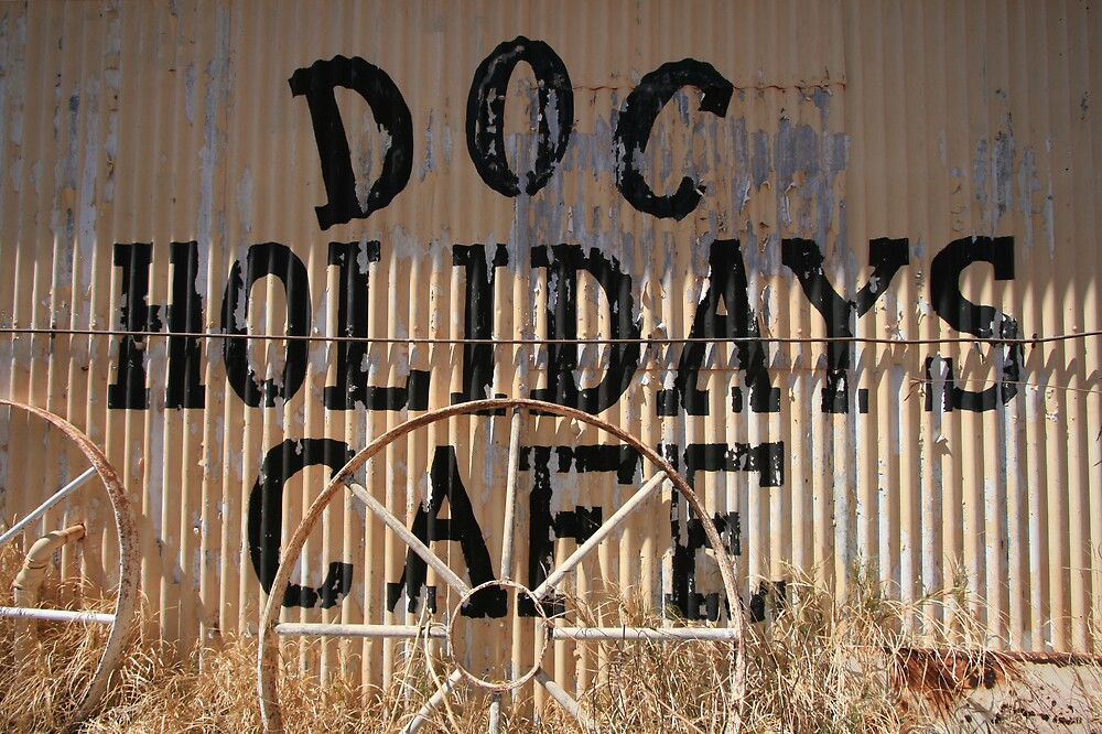 Doc Holidays Cafe, Wittenoom by Leigh Penfold
