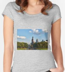 Philadelphia Pennsylvania Women's Fitted Scoop T-Shirt