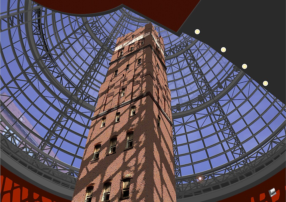 Shot Tower Melbourne by jrus