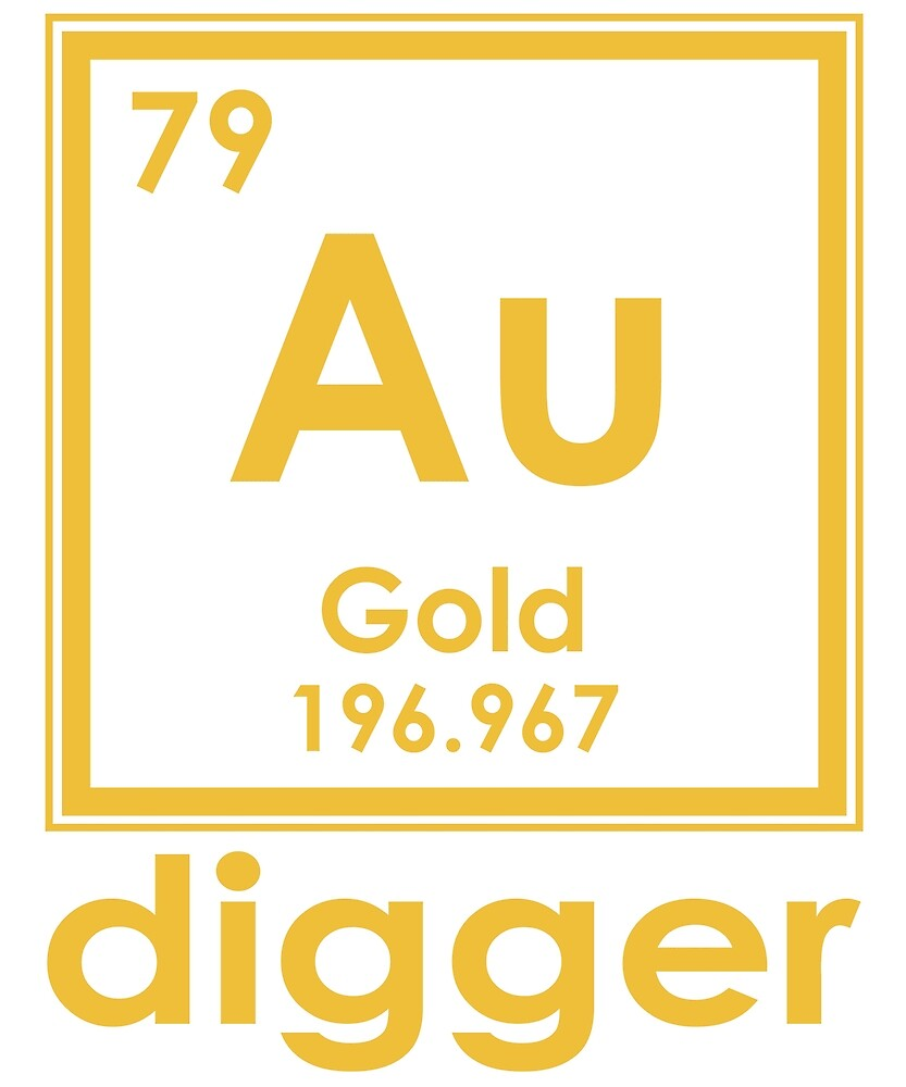 Gold digger au 196967 periodic table of elements design by gold digger au 196967 periodic table of elements design by nvalleydesign urtaz