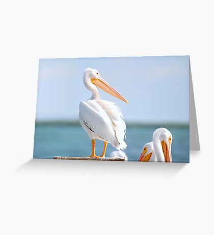 Leaders OnThe Post Greeting Card