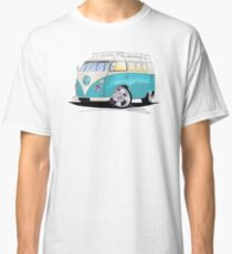 VW Splitty (Custom Blue) Camper Van Classic T-Shirt