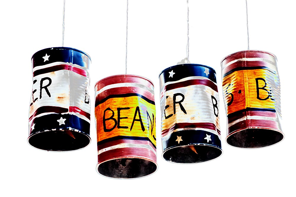 Cans by Norbert Rehm