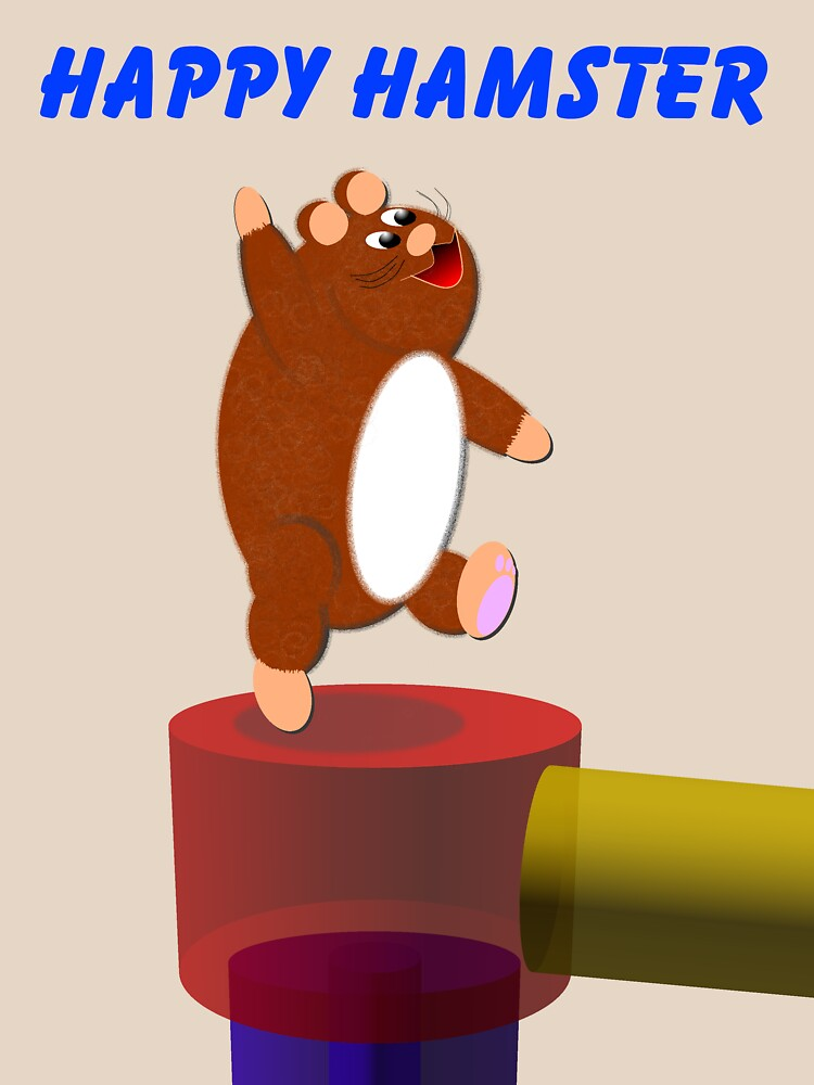 Happy Hamster by EddyG