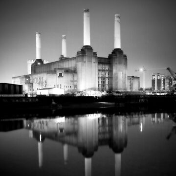 Battersea power station mono by vjkama