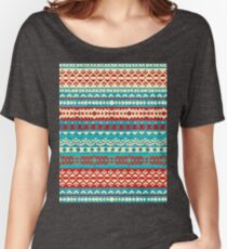 Vector seamless surf pattern Women's Relaxed Fit T-Shirt