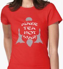 Make Tea, Not War Women's Fitted T-Shirt