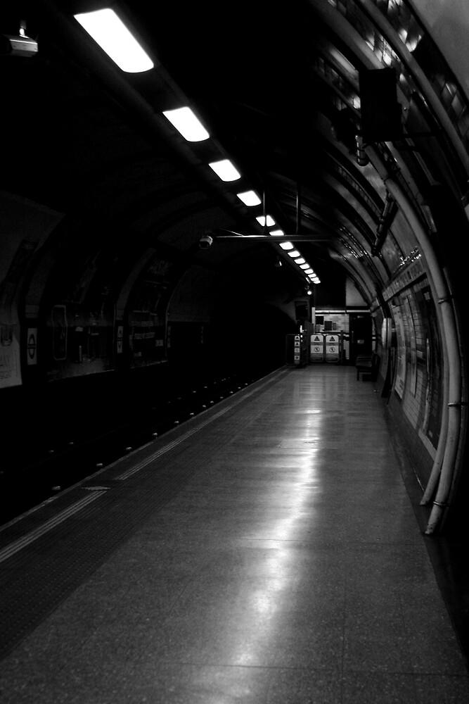 Last Train by Oli Johnson