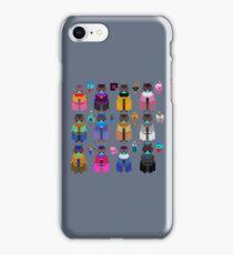 Pixel Drifters iPhone Case/Skin
