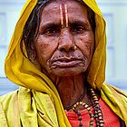 Woman in Yellow. by bulljup