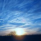 Sunset en blue by ladyvanessa
