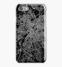 Brussels (Bruxelles) street network iPhone Case/Skin