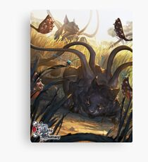 Baby Bestiary - Phase Kitten Canvas Print
