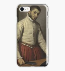 Giovanni Battista Moroni - The Tailor (Il Tagliapanni) iPhone Case/Skin