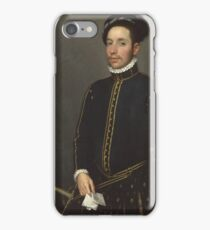 Giovanni Battista Moroni - Portrait Of A Gentleman (Il Gentile Cavaliere) iPhone Case/Skin