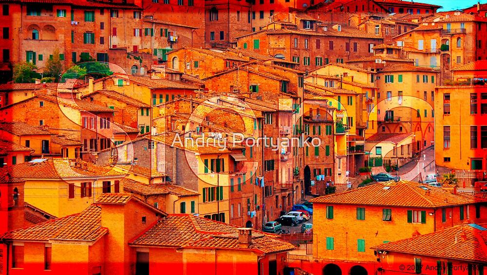 Siena by Andriy Portyanko