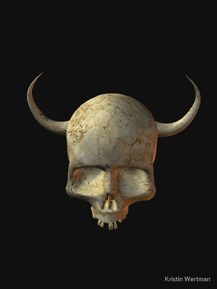 Skull Tee by mystical