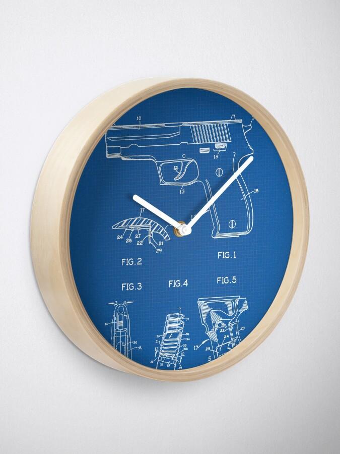 Alternate view of Sig Sauer Pistol Clock