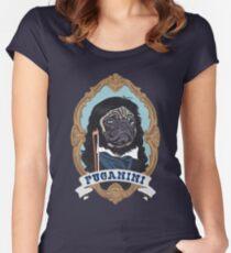 Puganini Women's Fitted Scoop T-Shirt