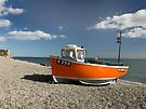 Branscombe Fishing Boat by SWEEPER