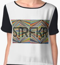 starfucker STFKR Women's Chiffon Top