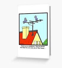 Antenna Greeting Card