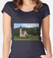 Church of St. Johann (San Giovanni) in Ranui Women's Fitted Scoop T-Shirt