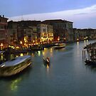 Venice Evening Traffic by Larry Costales