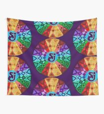 SCI - String Cheese Incident - Rainbow Geometric Mandala - Psychedelic Funkadelic Wall Tapestry